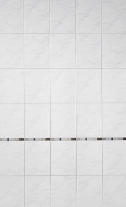 fa ence marbre carrara aspect brillant pour salle de bain 25x33 cm brico d p t. Black Bedroom Furniture Sets. Home Design Ideas