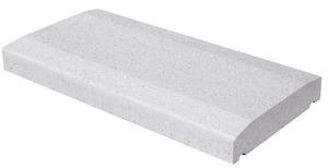 Couvre mur b ton blanc cass x x p 6 cm brico d p t - Couvre mur brico depot ...