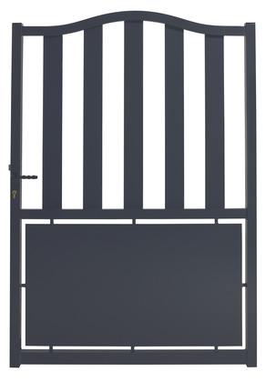 portillon aluminium pas cher avec leroy merlin brico depot. Black Bedroom Furniture Sets. Home Design Ideas