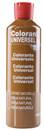 Colorant sienne naturelle 250 ml - L'UNIVERSEL - Brico Dépôt
