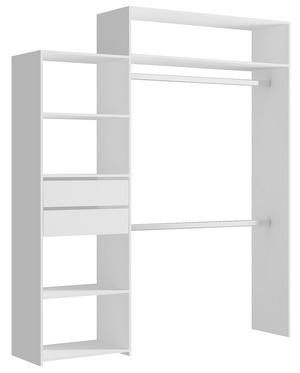 kit d 39 am nagement de placard carolina blanc 2 tiroirs magasin de bricolage brico d p t. Black Bedroom Furniture Sets. Home Design Ideas