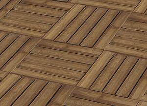 Terrasse sol brico d p t - Dalle bois 50x50 ...