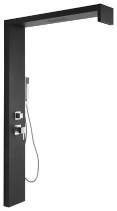 colonne de douche en m tal adaptable sur paroi walk in h 150 cm brico d p t. Black Bedroom Furniture Sets. Home Design Ideas