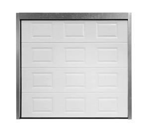 Porte de garage sectionnelle basculant 2 vantaux for Porte sectionnelle garage 3m