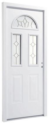 Porte d 39 entr e pvc bois aluminium vitr e m tal brico d p t - Porte d entree pvc vitree brico depot ...