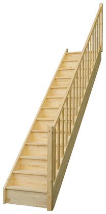 escalier droit 2m90