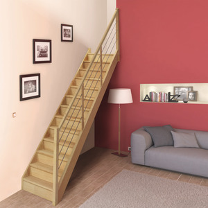 escalier colima on escamotable quart tournant balustrade brico d p t. Black Bedroom Furniture Sets. Home Design Ideas