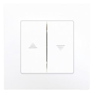 interrupteur pour volet roulant clipser delta viva blanc brico d p t. Black Bedroom Furniture Sets. Home Design Ideas