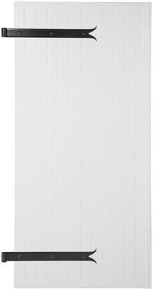 kit volet battant en pvc blanc h 218 cm l 120 cm brico d p t. Black Bedroom Furniture Sets. Home Design Ideas