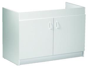 cuisinette quip e meuble sous vier pour petits espaces brico d p t. Black Bedroom Furniture Sets. Home Design Ideas
