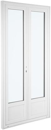 Porte fenêtre en PVC, Bois & Aluminium - Brico Dépôt