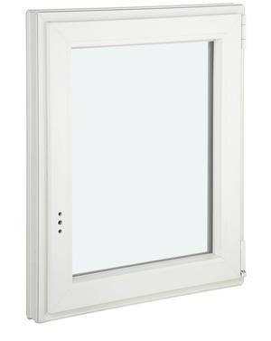 Fenêtre en PVC oscillo-battante 1 vantail droite L. 60 x H. 75 cm ...