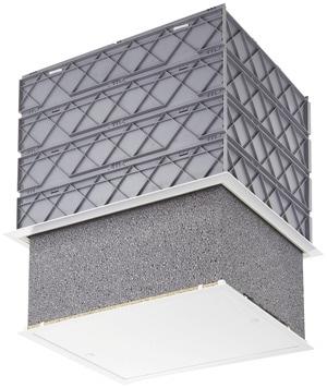 Trappe De Plafond Isolee Et Etanche A L Air Pour Les Batiments Basse Consommation L 59 X L 49 X H 40 Cm Brico Depot