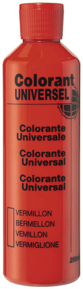 Colorant vermillon 250 ml - L'UNIVERSEL - Brico Dépôt