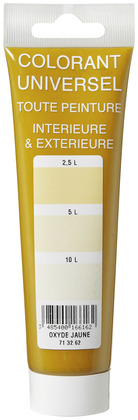 Colorant oxyde jaune tube 100 ml - L'UNIVERSEL - Brico Dépôt