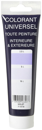 Colorant violet tube 100 ml - L'UNIVERSEL - Brico Dépôt