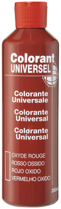 Colorant rouge 250 ml - L'UNIVERSEL - Brico Dépôt