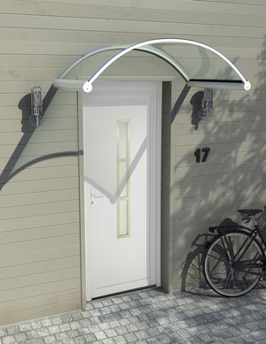 marquise auvent fer forg bois aluminium brico d p t. Black Bedroom Furniture Sets. Home Design Ideas