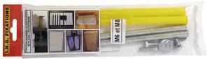 cheville molly crampon m tallique nylon bricolage brico d p t. Black Bedroom Furniture Sets. Home Design Ideas