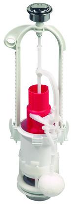 m canisme wc conomiseur d 39 eau 3 6 l double bouton poussoir et robinet flotteur levier. Black Bedroom Furniture Sets. Home Design Ideas