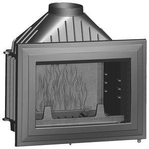 insert serviteur pare feu chemin e foyer plaque en. Black Bedroom Furniture Sets. Home Design Ideas