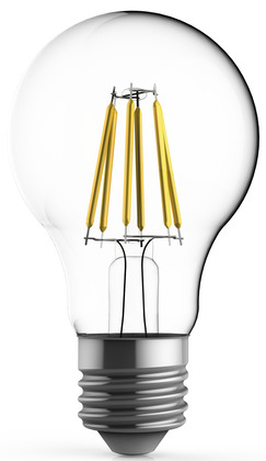 ampoule led fil standard 55 w 4000 k brico d p t. Black Bedroom Furniture Sets. Home Design Ideas