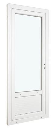 porte fen tre en bois 2 vantaux gauche l 80 x h 205 cm brico d p t. Black Bedroom Furniture Sets. Home Design Ideas