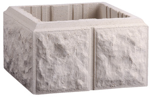 pilier de portail balustre couvre mur brico d p t. Black Bedroom Furniture Sets. Home Design Ideas