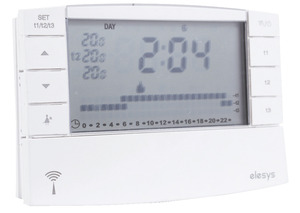 PACK THERMOSTAT DIGITAL PROGRAMMABLE SANS FIL - Brico Dépôt