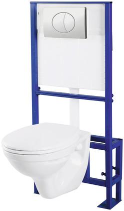 pack wc suspendu h 35 5 cm l 36 cm ep 52 cm avec volume. Black Bedroom Furniture Sets. Home Design Ideas