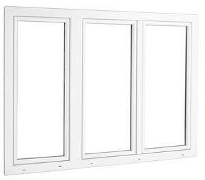 Fenêtre En Pvc 3 Vantaux L 180 X H 135 Cm Brico Dépôt