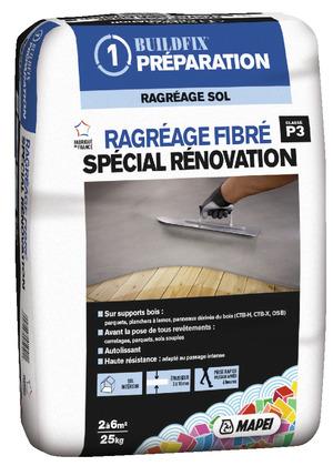 Ragr age et isolation des sols magasin de bricolage - Ragreage exterieur fibre ...