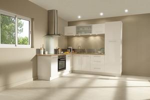 cuisine luna selon implantation type magasin de bricolage brico d p t. Black Bedroom Furniture Sets. Home Design Ideas