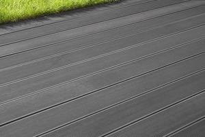 Lame de terrasse composite coloris gris lame de terrasse brico d p t - Lame de terrasse en composite leroy merlin ...