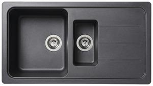 evier inox r sine granit brico d p t. Black Bedroom Furniture Sets. Home Design Ideas