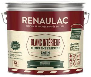 Mur plafond satin peinture int rieure brico d p t - Peinture glycero brico depot ...
