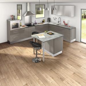 Plan de travail meuble de cuisine brico d p t - Plan de travail cuisine effet beton ...