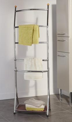 porte serviette poser en acier chrom 5 1. Black Bedroom Furniture Sets. Home Design Ideas