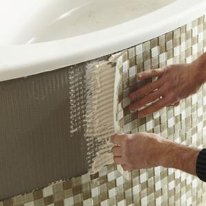 baignoire baln o rectangulaire d 39 angle et tablier. Black Bedroom Furniture Sets. Home Design Ideas