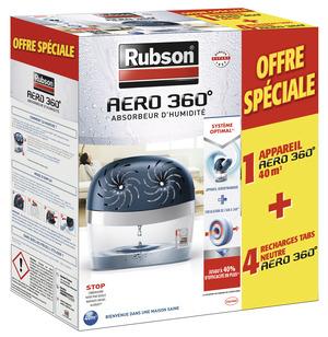 absorbeur d 39 humidit aero 360 4 recharges brico d p t. Black Bedroom Furniture Sets. Home Design Ideas