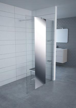 paroi avec profil en aluminium 120x200 cm brico d p t. Black Bedroom Furniture Sets. Home Design Ideas
