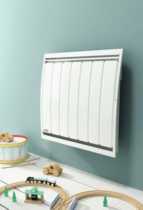 radiateur inertie s che lectrique 1000w 2000w brico. Black Bedroom Furniture Sets. Home Design Ideas