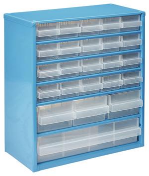 casier organiseur m tallique 24 tiroirs brico d p t. Black Bedroom Furniture Sets. Home Design Ideas