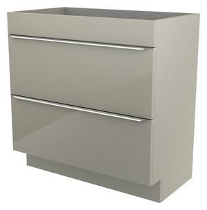 meuble salle de bain laqu e blanc ou gris imandra 80 cm. Black Bedroom Furniture Sets. Home Design Ideas