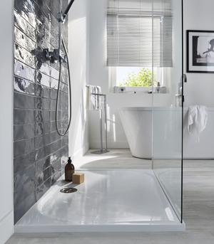 receveur de douche brico d p t. Black Bedroom Furniture Sets. Home Design Ideas