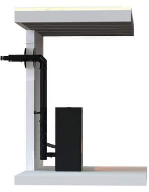 tubage inox aluminium pour fumisterie de poele bois. Black Bedroom Furniture Sets. Home Design Ideas