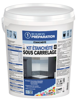 ragréage - primaire d'accrochage & préparation des sols - brico dépôt - Etancheite Carrelage Salle De Bain