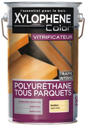 Vitrificateur Incolore Satine Pour Proteger Et Embellir Les Parquets Neufs Et Anciens 5 L Brico Depot