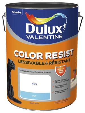 Peinture salle de bain cuisine anti humidit hydrofuge brico d p t - Dulux valentine color resist ...
