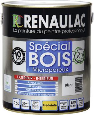 Beau Peinture Pour Boiseries Aspect Satin, 0,5 L   RENAULAC   Brico Dépôt Idees Impressionnantes